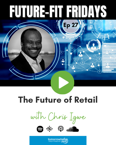 The Future of Retail with Chris Igwe show art