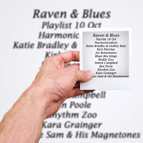 Raven and Blues 10 Oct 2014