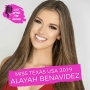 Artwork for iss Texas USA 2019 Alayah Benavidez - Competing in Texas and Mental Challenges of Competing at Miss USA