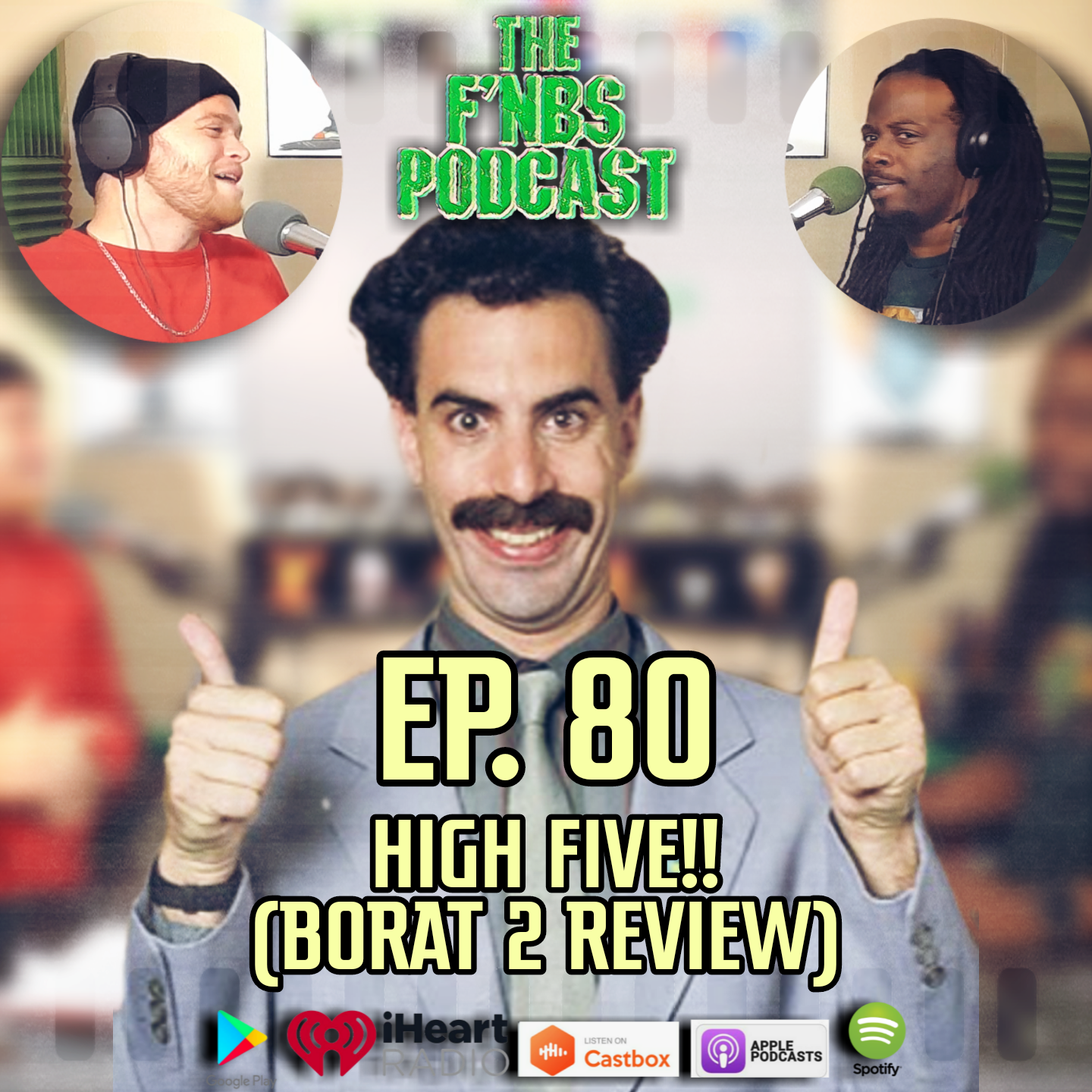 Artwork for The F'NBS Podcast Ep. 80 | Highfive!!