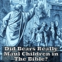 Artwork for Did God Send Bears To Maul Children In The Bible?