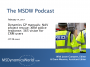 Artwork for The MSDW Podcast, Feb 14 2017: Dynamics GP manuals; NAV project rescue; XRM police response; 365 vision for CRM users