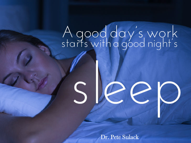 """Put Your Stress To Sleep"" with Dr. Pete Sulack"