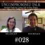 Artwork for Uncompromised Talk with Melanie Joy and Ron Renaud