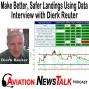 Artwork for 195 Make Better, Safer Landings Using Data with Dierk Reuter + GA News
