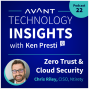 Artwork for Chris Riley: Zero Trust & Cloud Security