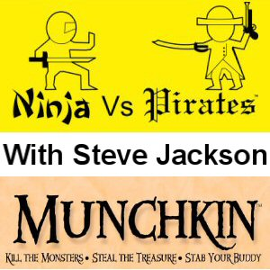 NvP 3x06 - Munchkin with Steve Jackson