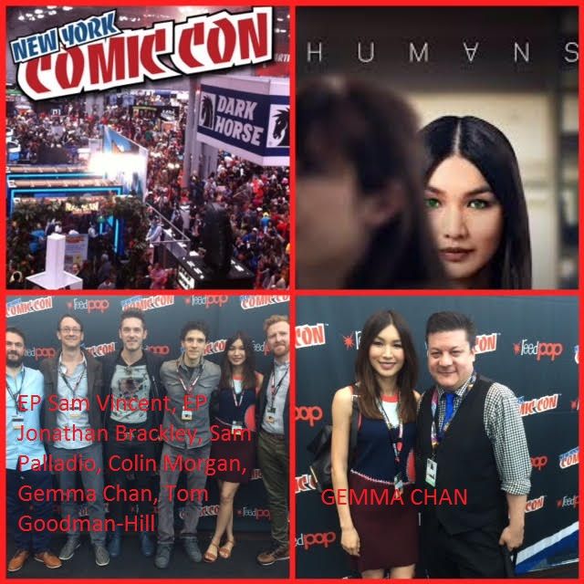 Episode 728 - NYCC: Humans w/ Gemma Chan/Colin Morgan/Tom Goodman-Hill/Sam Palladio/EP Sam Vincent/EP Jonathan Brackley!