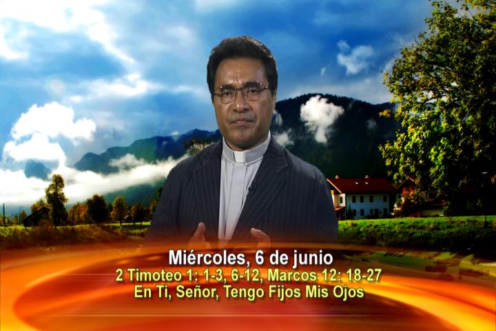 Artwork for Dios te Habla con Fr. Beni Leu, SVD;  Tema el hoy: En ti, Señor, tengo fijos mis ojos.