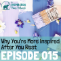 Artwork for 015: Why You're More Inspired After You Rest with Dr. Alex Soojung-Kim Pang