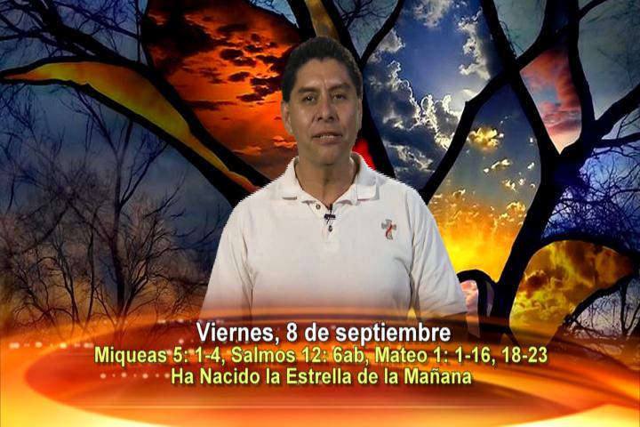 Artwork for Viernes 8 de Septiembre del 2017. Tema el hoy:  Natividad de la Santísima Virgen María.