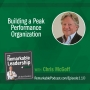 Artwork for Building a Peak Performance Organization with Chris McGoff