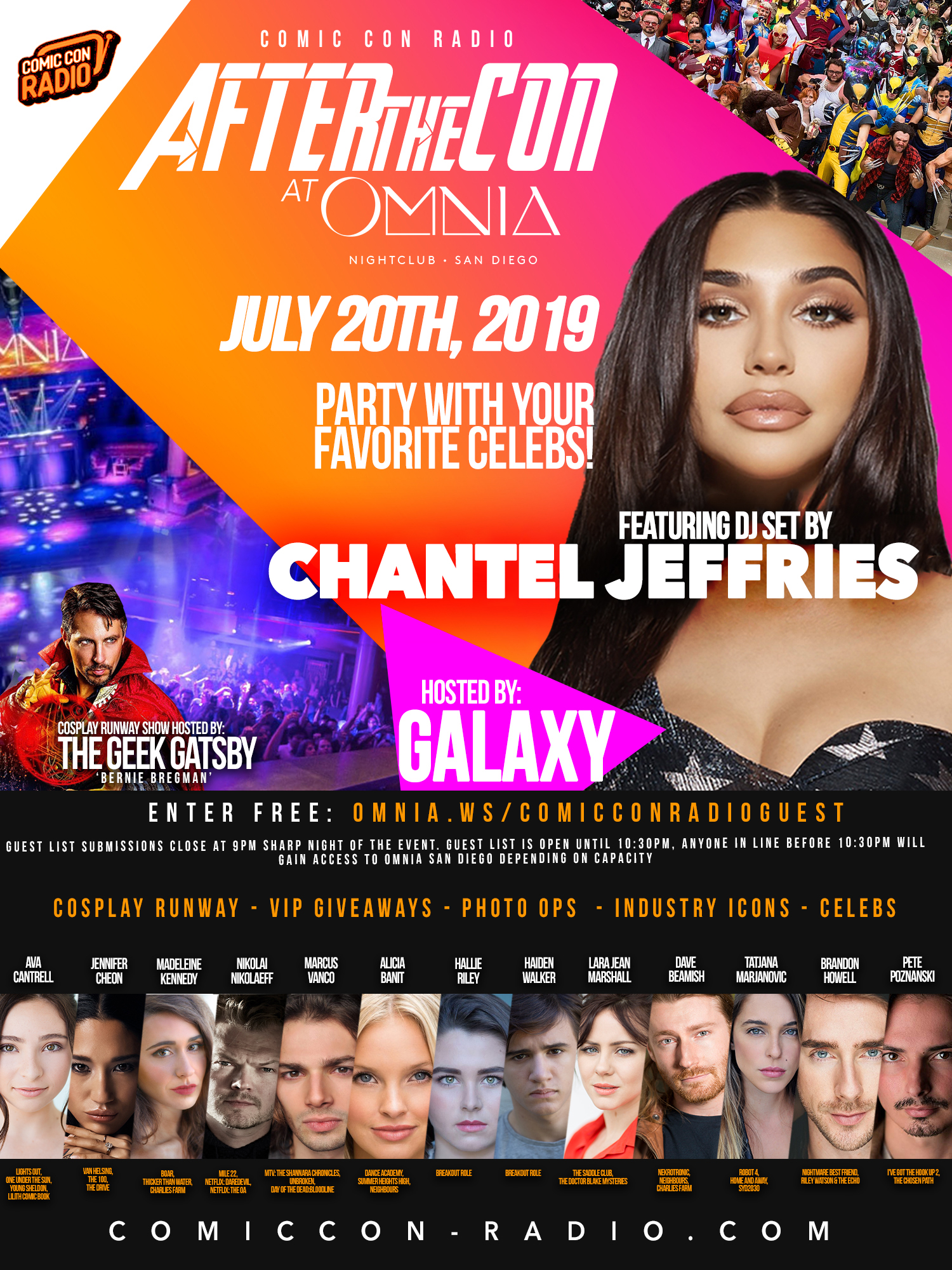 Comic Con Radio - Omnia San Diego