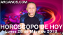 Artwork for HOROSCOPO DE HOY ARCANOS Lunes 28 de Mayo de 2018