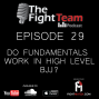 Artwork for Ep 29 - Do Fundamentals Work In High Level BJJ?