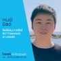 Artwork for Building a Unified NLP Framework at LinkedIn with Huiji Gao - #481