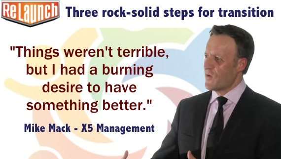 009 Three rock-solid steps for transition with Mike Mack