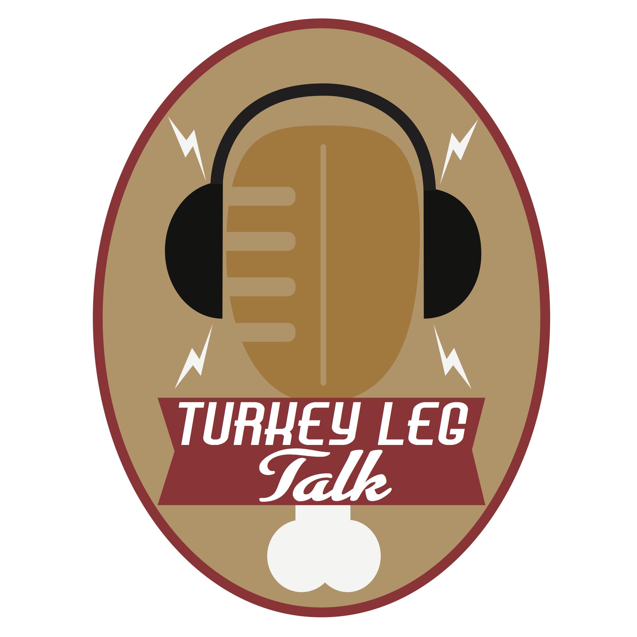 Turkey Leg Talk show art