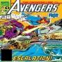 Artwork for The Crossing Line Part 4 (Avengers #322): Quantum Zone Episode #35