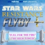"""Artwork for Star Wars Resistance Flyby: """"Fuel for the Fire"""" and """"The High Tower"""""""