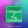 Artwork for Girl Scouts Phraseology: Colorguard (& Flag Ceremonies!)