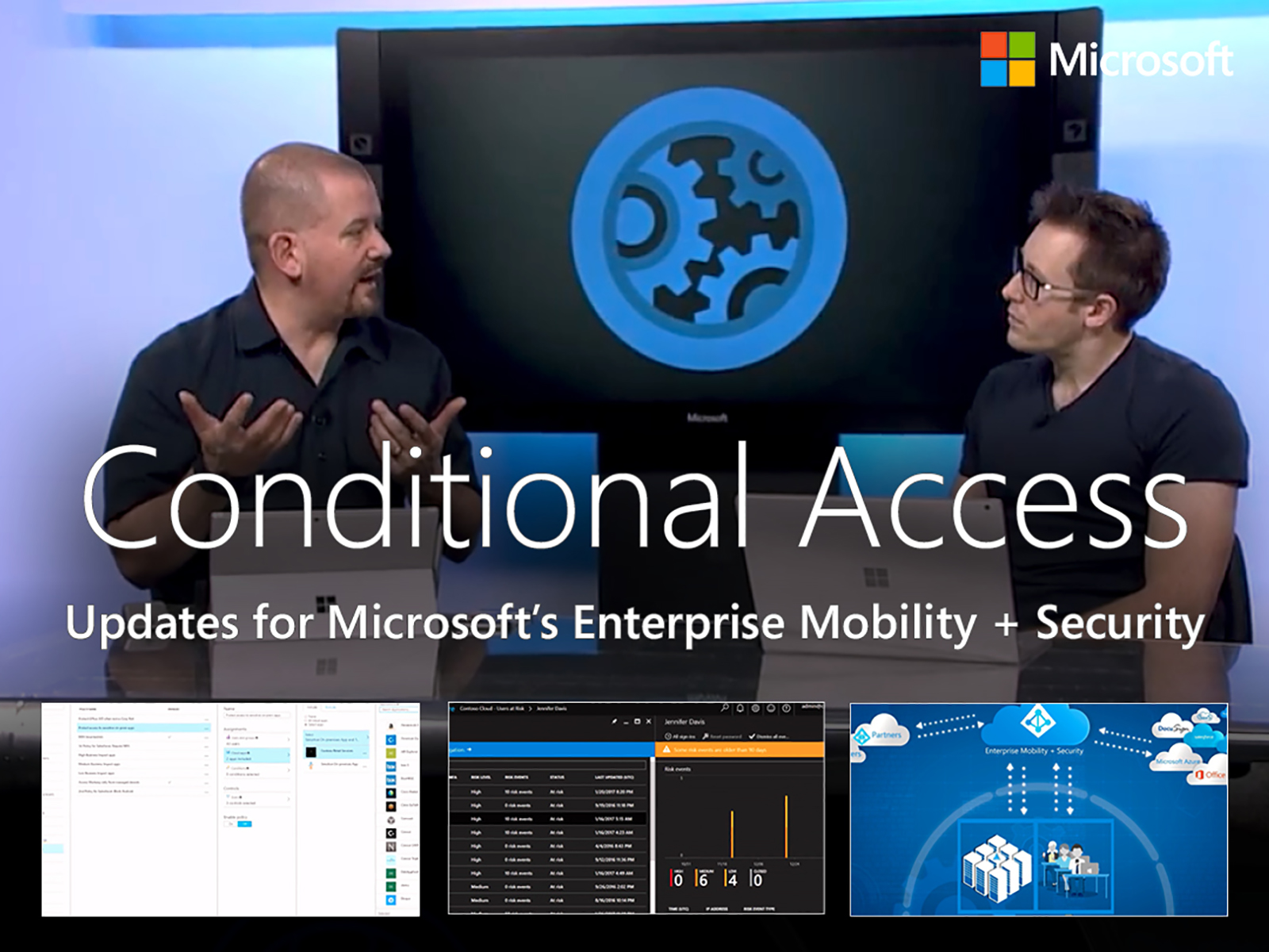 Artwork for Updates to Conditional Access in Enterprise Mobility + Security