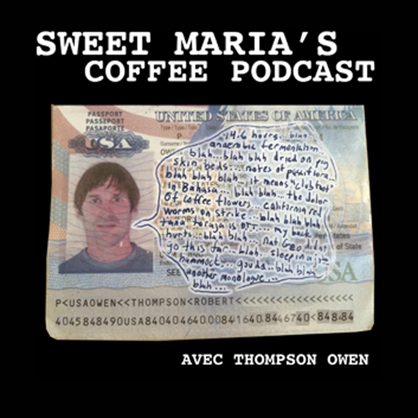 Sweet Maria's Coffee show art