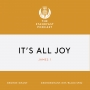 Artwork for  It's All Joy (James 1)