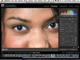 Use Lightroom 2 for Basic Portrait Retouching