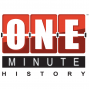 Artwork for 001 - Introduction - Welcome to the One Minute History Podcast