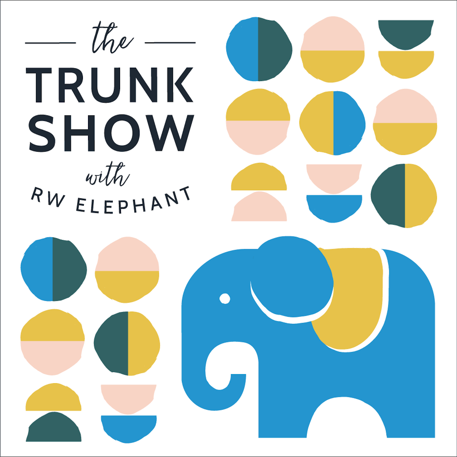 The Trunk Show with RW Elephant show art