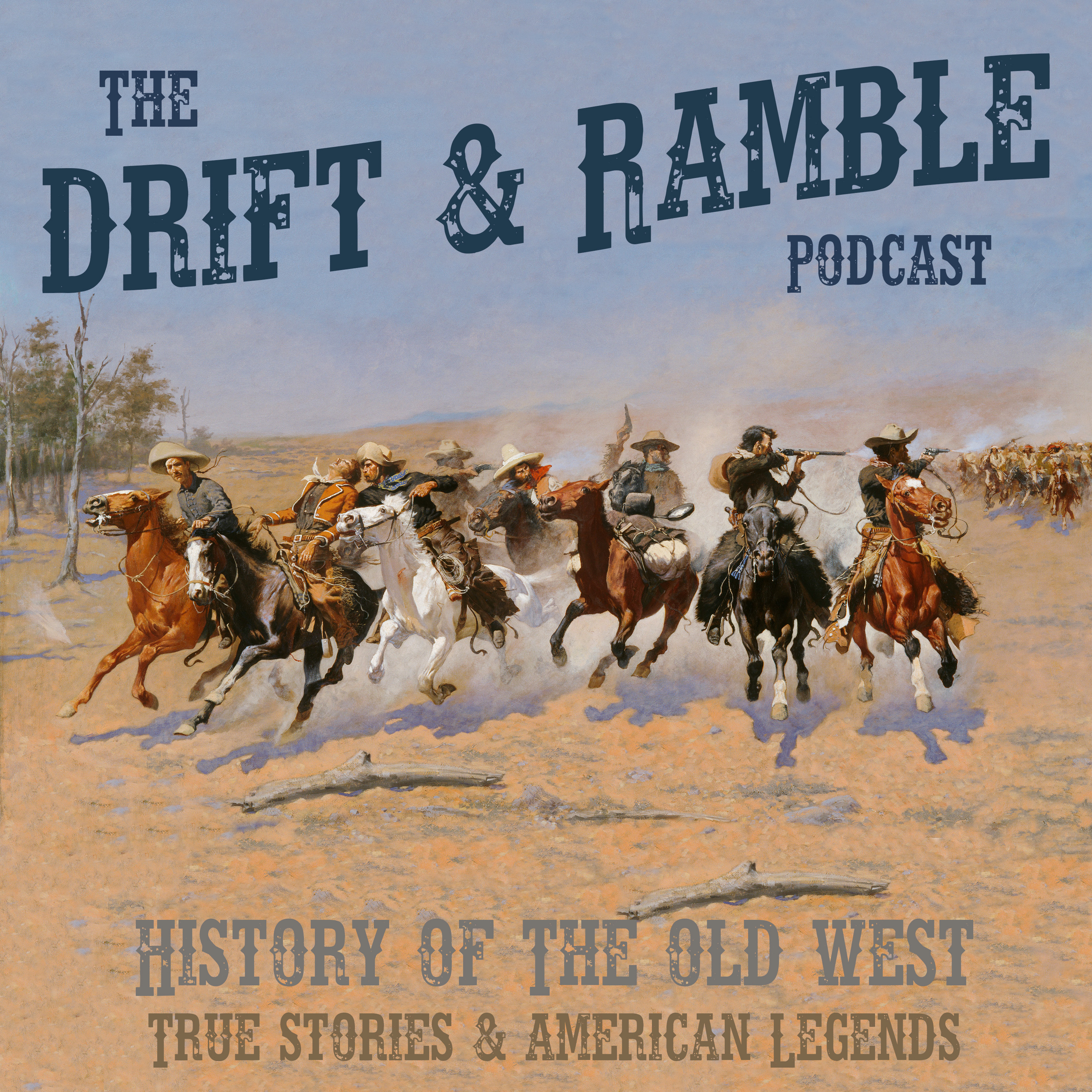 Artwork for Drift and Ramble Podcast EP 18 Bass Reeves