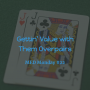 Artwork for Gettin' Value with Them Overpairs | MED Monday #22
