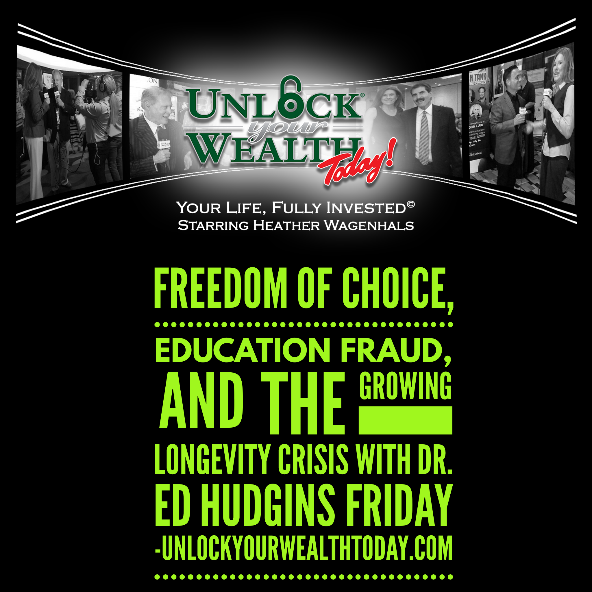 Artwork for Freedom of Choice, Education Fraud, And the Growing Longevity Crisis with Dr. Ed Hudgins