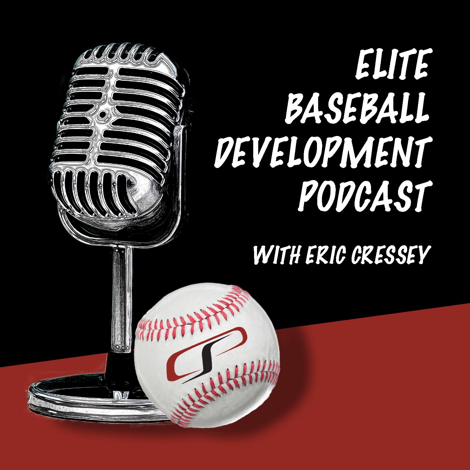 Elite Baseball Development Podcast show art