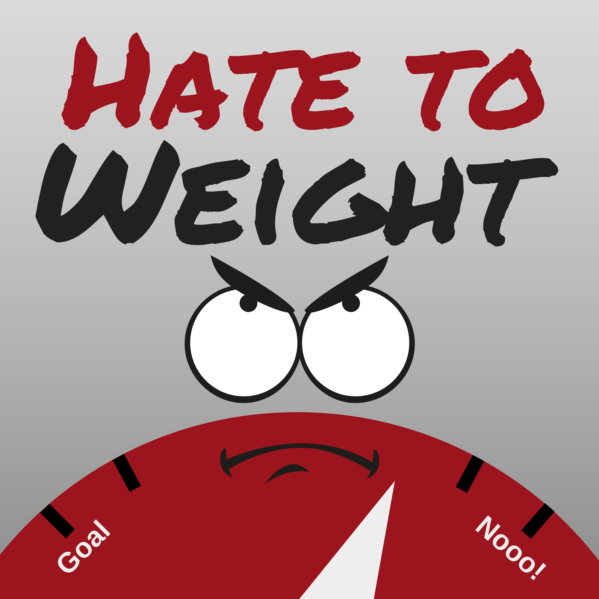 Hate to Weight show art