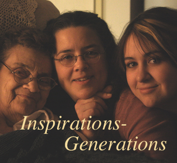 INSPIRATIONS GENERATIONS 0064- First year of marriage, and another generation- youth