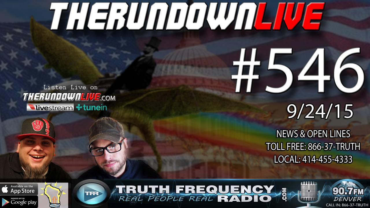 The Rundown Live #546 (NFL Drones, SouthPark Trump, Trevor Moore)