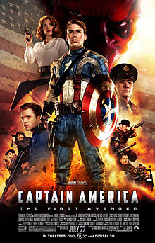 One-sheet poster of Captain America: The First Avenger