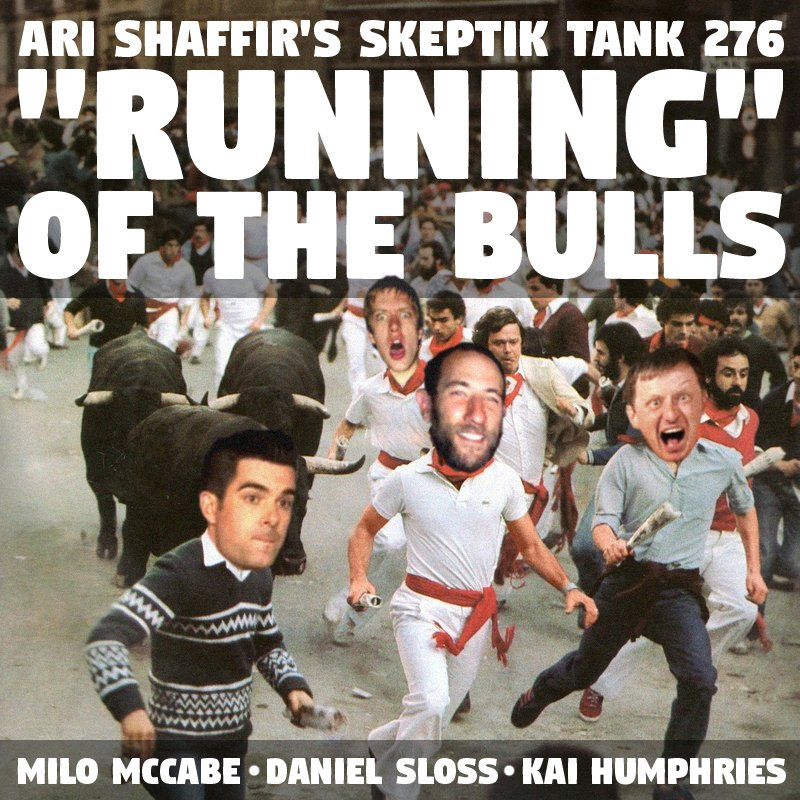 "#276: ""Running"" Of The Bulls (@KaiHumphries, @MiloComedy, @Daniel_Sloss)"