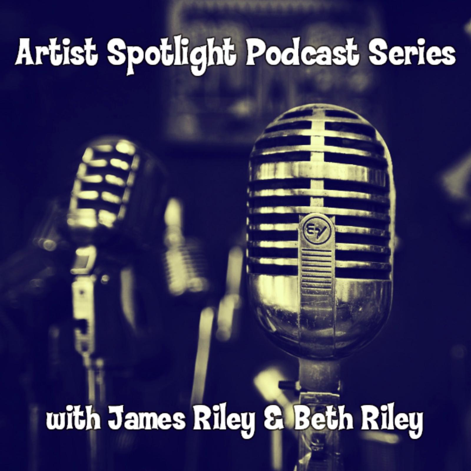 Artist Spotlight Podcast Series show art