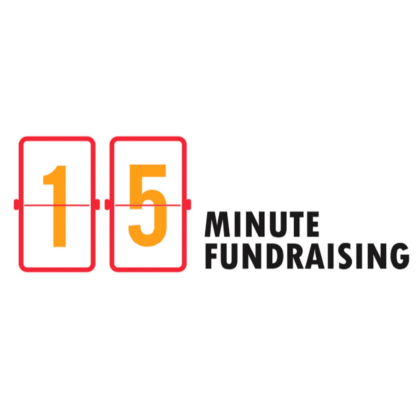 15 Minute Fundraising show art