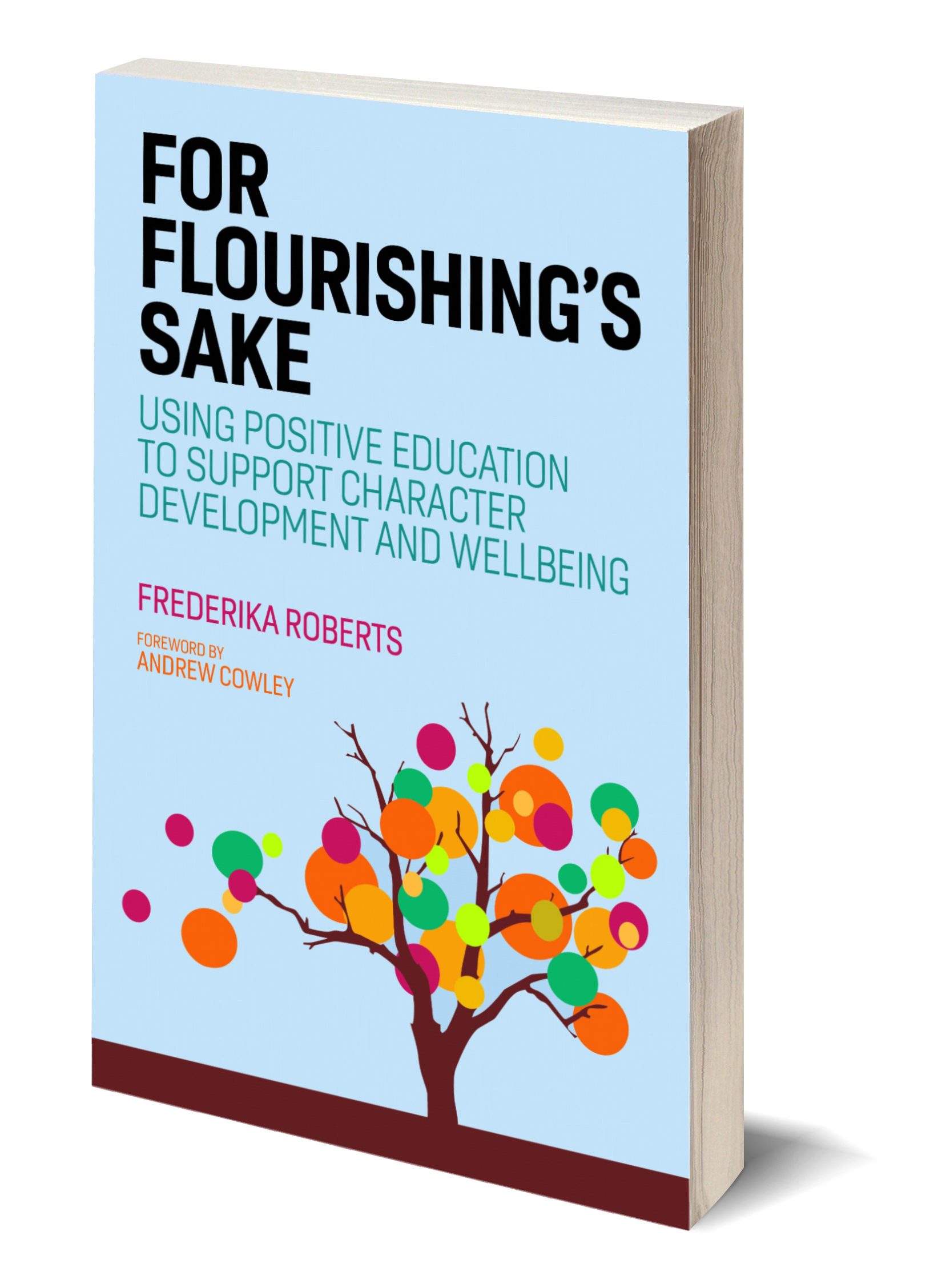 For Flourishing's Sake 3D book cover