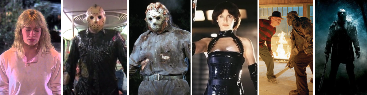 Friday the 13th - parts 7 through 2009