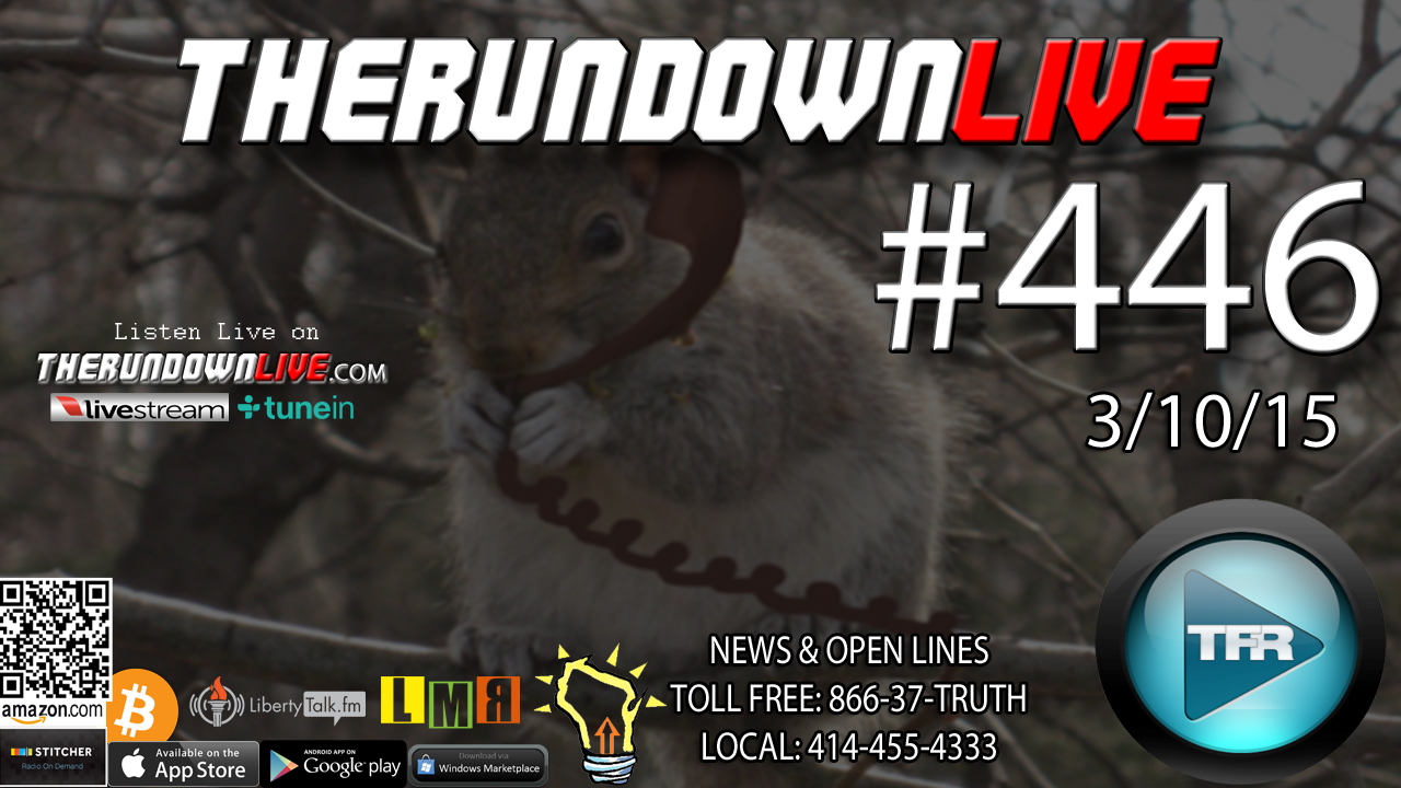 The Rundown Live #446 Open Lines (Fast Food,Health,GMO)
