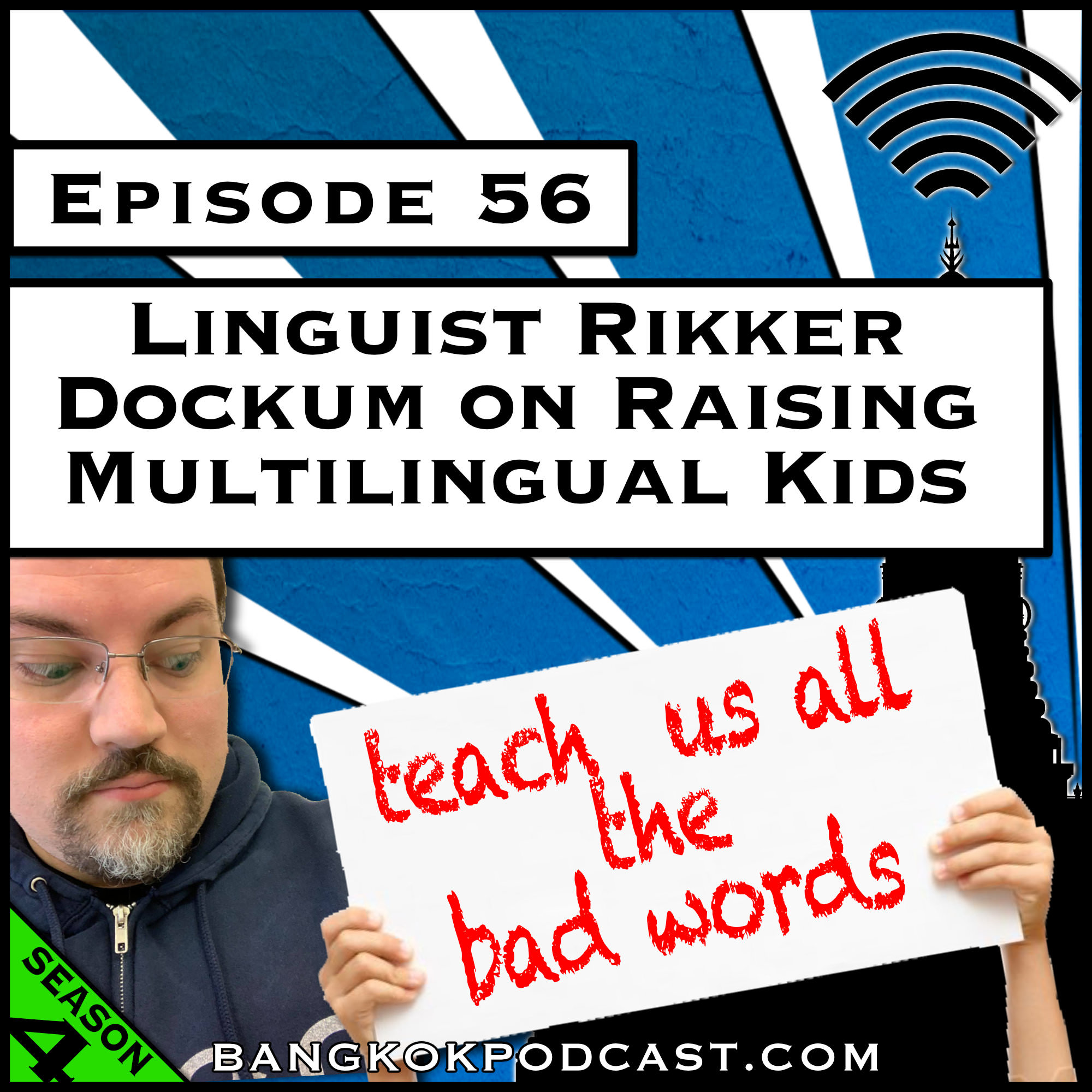 Linguist Rikker Dockum on Raising Multilingual Kids