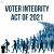 Voter Integrity Act of 2021 | SOTG 1039 show art