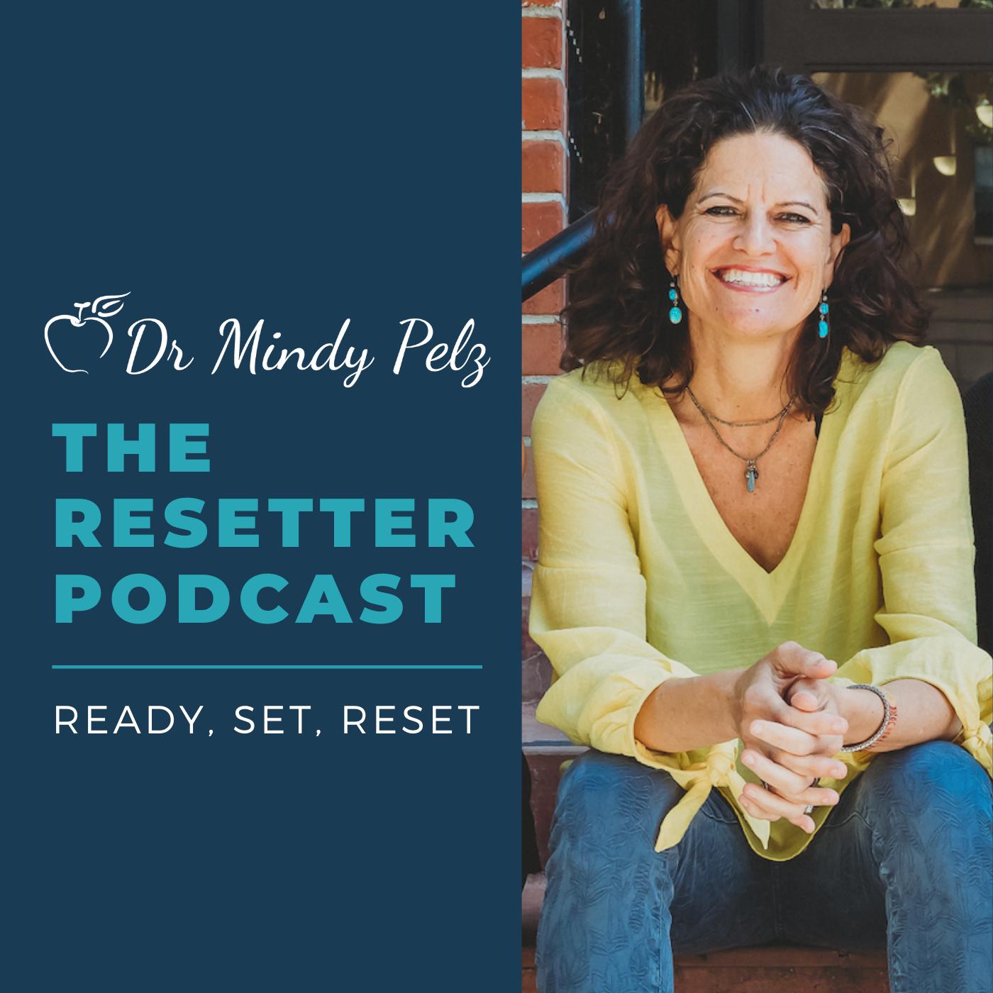 The Resetter Podcast show art