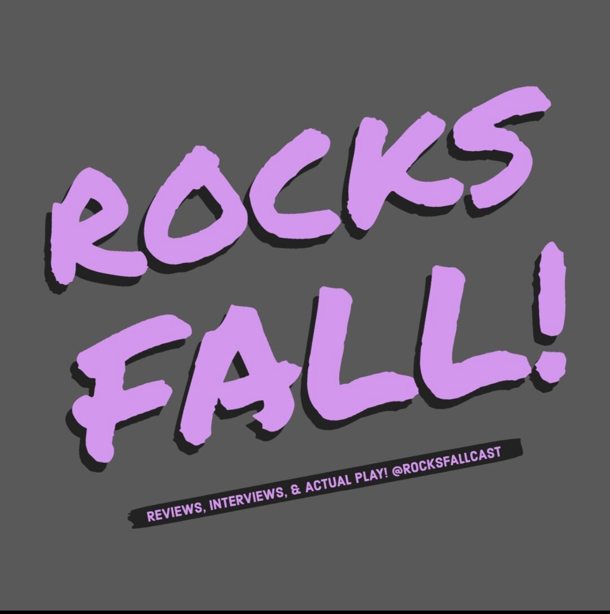 Rocks Fall!  show art