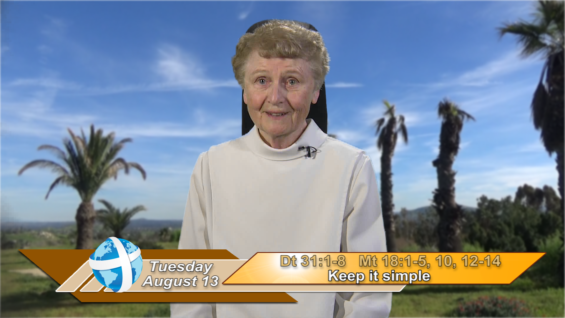 Artwork for iGod Today with Sr. Jeanne Harris, OP; Today's topic: Keep it simple
